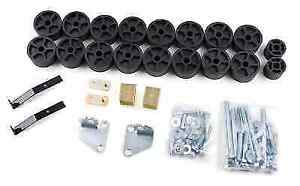 Zone Offroad C9154 Body Lift Kit For 99 02 Silverado Sierra 1500 2wd 4wd