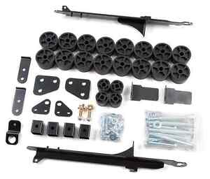Zone Offroad C9155 Body Lift Kit For 04 12 Chevy Colorado gmc Canyon 2wd 4wd