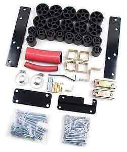 Zone Offroad C9202 Body Lift Kit For 94 97 Chevy S10 Gmc Sonoma 2wd 4wd