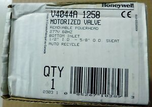 Honeywell V4044a1258 Motorized Valve