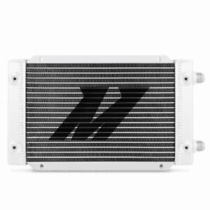 Mishimoto Mmoc 19dp Universal Silver 19 row Dual Pass Oil Cooler W 10an In out