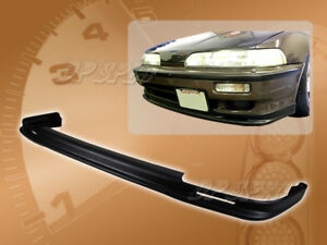 For 90 91 Acura Integra T M Front Bumper Lip Body Kit Spoiler Poly Urethane Pu