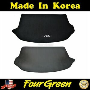 Black Cargo Mat Cover Trunk For Kia Soul 2010 2013