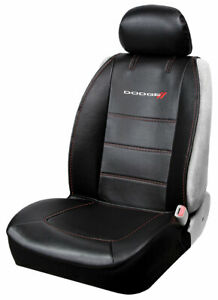 Brand New Dodge Ram Racing Elite Car Truck Suv Front Sideless Seat Cover
