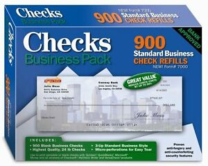 New Checks Business Pack Free Shipping