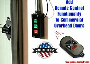 Rf Remote Control System For Commercial Overhead Doors Pb3 drc