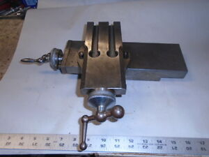 Machinist Tools Lathe Mill Machinist Swiss Made Compound Cross Slide Schaublin