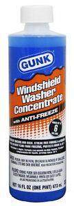 Gunk M516 12pk Windshield Washer Concentrate With Anti Freeze 16 Oz Case Of 12