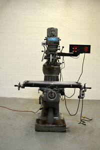 Sharp Model Yc 1 1 2 Va Step Pulley Mill Milling Machine 9 X 42 W Dro
