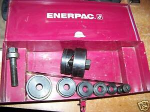 Enerpac Knockout Punch Die Set New used 1 2 21 2