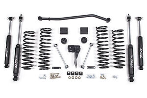 Zone Offroad J15n 4 Lift Kit W nitro Shocks For Jeep Wrangler Jk 4wd 4 door