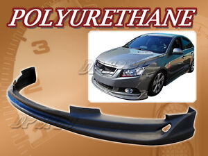 For 11 12 Chevy Cruze T 1 Front Bumper Lip Body Spoiler Kit Polyurethane Pu
