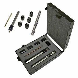 Malco Sw1 Spot Weld Cutter Kit With 3 8 Double End Cutter 5 16