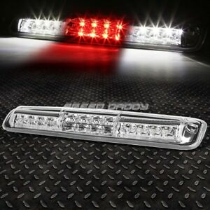 For 99 07 Silverado Sierra Led Third 3rd Tail Brake Light W Cargo Lamp Chrome