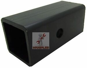 New 2 5 To 2 Ball Mount Receiver Hitch Adapter Sleeve Truck Suv Trailer