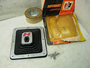 Nos Vintage Hurst 4sp Shifter Super Boot Superboot 114 7494 Amc Chevy Ford Mopar
