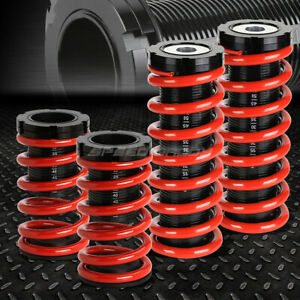 For 00 05 Mit Eclipse 3g Red 1 3 Adjustable Coilover Suspension Lowering Spring