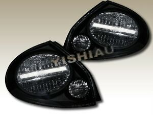 Fit For 2000 2001 2002 2003 Maxima Jdm Black Tail Lights