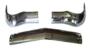1956 Chevrolet Bel Air Chrome Front Bumper Fast Shipping Great Quality