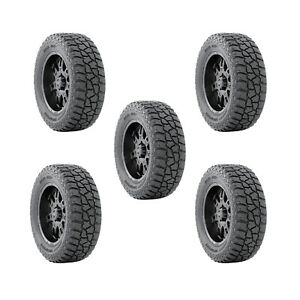 Mickey Thompson 90000001918 Set Of 5 Baja Atzp3 3 195 Lbs Max 33x11 50r17 Tires