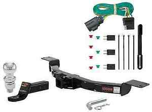 Curt Class 3 Trailer Hitch Tow Package W 2 Ball For Enclave Acadia Traverse