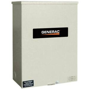 Generac Rtsn200k3 Guardian 200 amp 3 phase Automatic Transfer Switch 277 480v