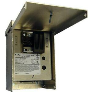 Generac 6377 30 amp 120 240v 1 circuit Generator Outdoor Manual Transfer Switch