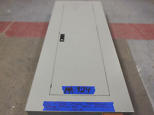 Ge 225 Amp Panel Panelboard 200 175 150 480v 277v Main 3 Phase Breaker 24 Space