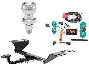 Curt Class 1 Trailer Hitch Tow Package W 2 Ball For Chevy Cruze