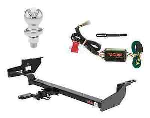 Curt Class 2 Trailer Hitch Tow Package W 1 7 8 Ball For Subaru Forester