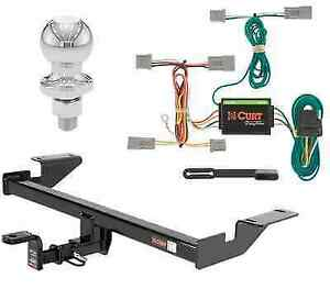 Curt Class 2 Trailer Hitch Tow Package W 1 7 8 Ball For Mazda Cx 5