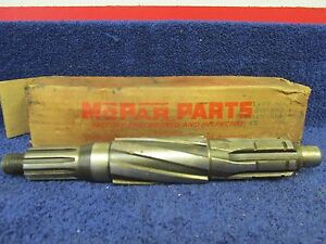1949 54 Plymouth Trans Without Overdrive Mainshaft Nos Mopar 516