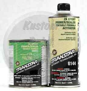 Transtar 6134 6144 2k Epoxy Gray Primer Sealer 1qt Kit