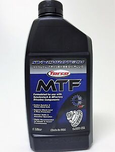 Synchrotech Mtf Manual Transmission Fluid By Torco 5 Liter Pack