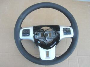 Oem 2011 2014 Dodge Charger Steering Wheel Black Leather W Hands Free Phone