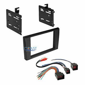 Car Radio Double Din Dash Kit Harness For 2000 2003 Ford Thunderbird Lincoln Ls