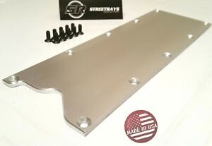 sr Valley Pan Cover Plate Billet Low Profile Knock Sensor Delete Lsx Ls1 Gen 3