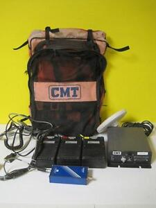 Cmt Gps Lot Ashtech Z sensor Survey Equipment Brick Acc powerbat 12 g2 4500 Used