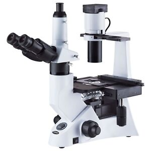 40 1000x Inverted Infinity Phase contrast 30w Biological Microscope