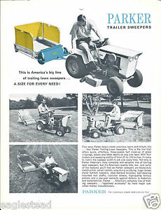 Equipment Brochure Parker Lawn Trailer Sweepers e3057