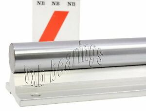 Nb Wss16 X28 1 Inch Supported Shaft Rail Assembly Linear Motion