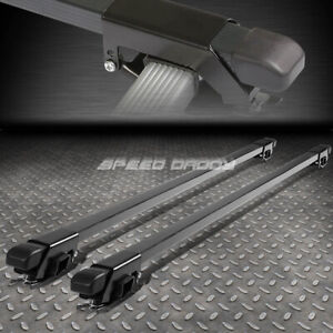 50 Aluminum Roof Rack Car Suv Top Crossbar Luggage Bag Cargo Square Bar Rail