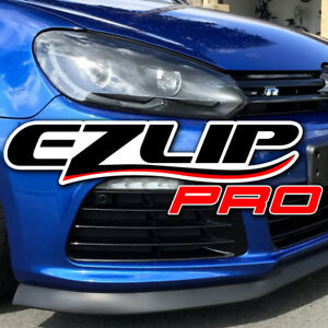 Ez Lip Pro Spoiler Chin Trim Wing Body Kit Splitter For Vw Volvo Saab Ezlip