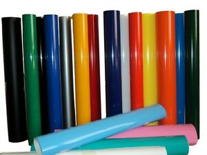 Vinyl Rolls Film Material Self Adhesive Backed Sign Colors Package 19 24 10yd