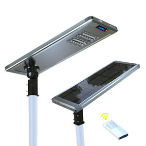 Superior Solar Powered Led Path Street Parking Smart Sensing Lights Lamp Remote