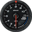 Defi Advance Cr Exhaust Temp Gauge Egt Black 60mm 9302