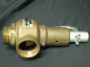 Conbraco 19 701 30 Size 2 90 Psi Bronze Safety Relief Valve New Model 19 hh