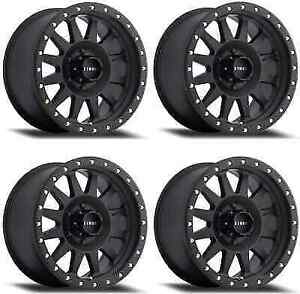 Method Race Double Standard Mr30478550500 Wheel Rims 17x8 5 0mm 5x127 Black
