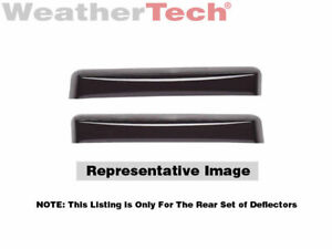 Weathertech Side Window Deflectors For Bmw 3 series Sedan 2006 2011 81405