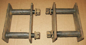 1979 1989 Toyota 4x4 Pickup Hilux 4runner Rear Axle Leaf Spring Shackles